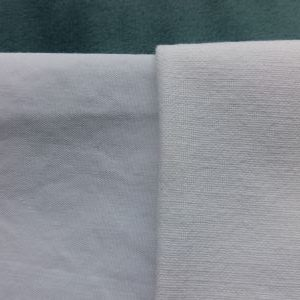 percale cotton on left versus regular cotton on right