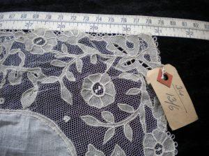 Carrickmacross Lace Handkerchief c.1913